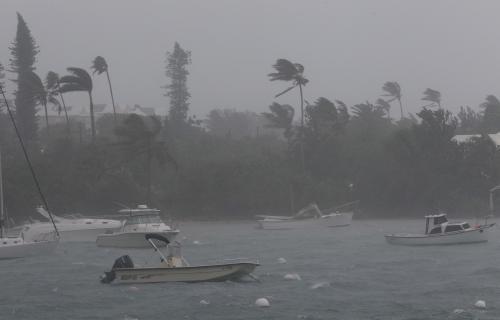 Hurikán Igor těsně minul Bermudy