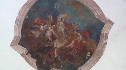 Interiér zámku Červené Poříčí