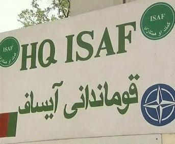 Štáb jednotek ISAF v Afghánistánu
