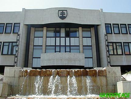 Budova slovenského parlamentu