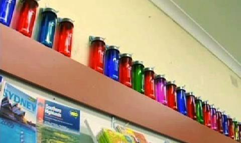 Znovunaplnitelné lahve