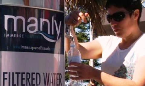 Pítko s pitnou vodou