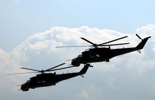 Vrtulník Mil Mi-24