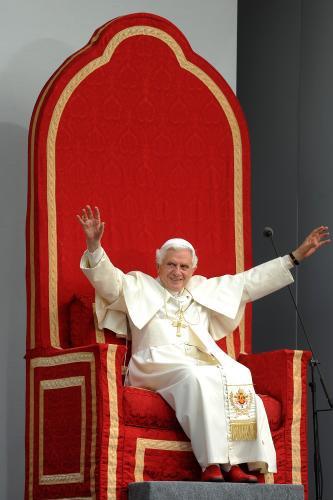 Benedikt XVI. ve Velké Británii