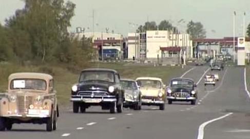 Rallye Petrohrad - Kyjev