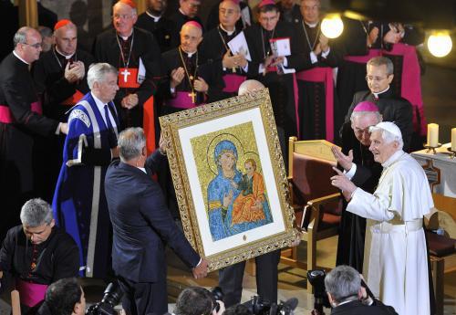 Papež Benedikt XVI. ve Velké Británii