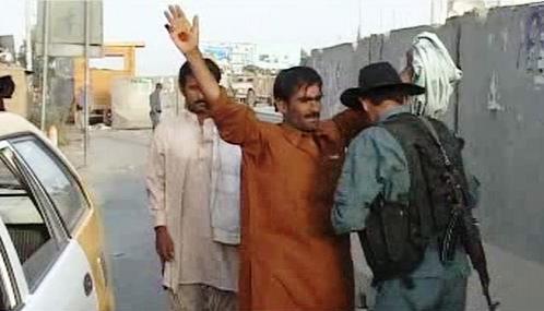 Silniční kontroly v Afghánistánu