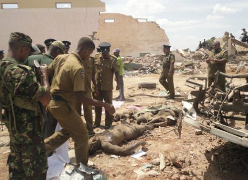 Na Srí Lance explodovala nákladní auta s výbušninou