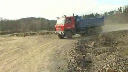 Rozestavěná silnice