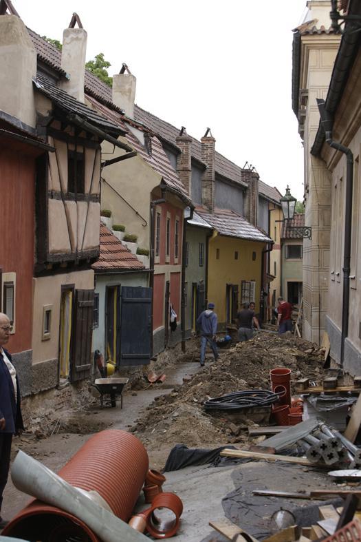 Archeologický výzkum ve Zlaté uličce