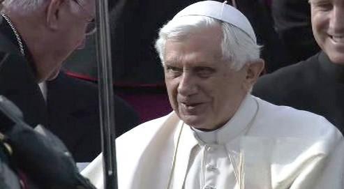 Papež ve Velké Británii