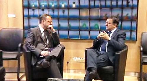 Petr Nečas a José Barroso