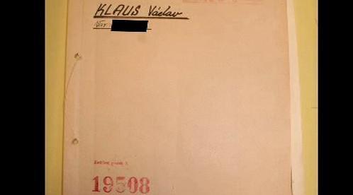 Spis Václava Klause