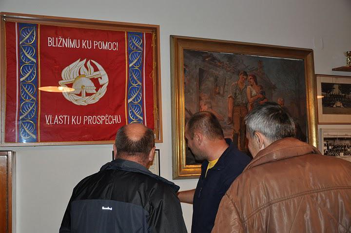 Z členské schůze SDH Běloves