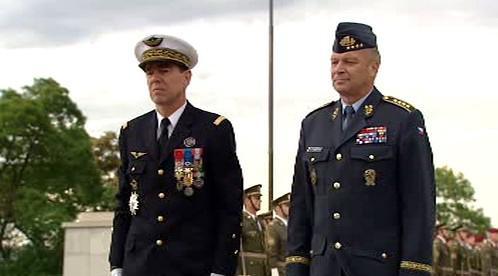 Stéphane Abrial a Vlastimil Picek