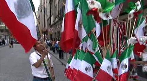 Oslavy boje za nezávislost v Mexiku