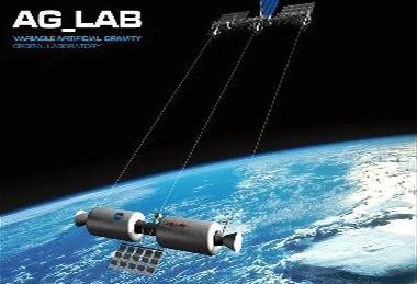 Koncept kosmické lodě s umělou gravitací