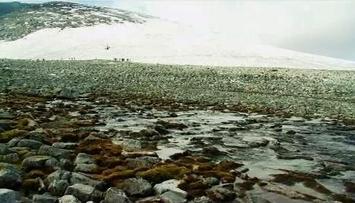 Tající ledovce v Norsku
