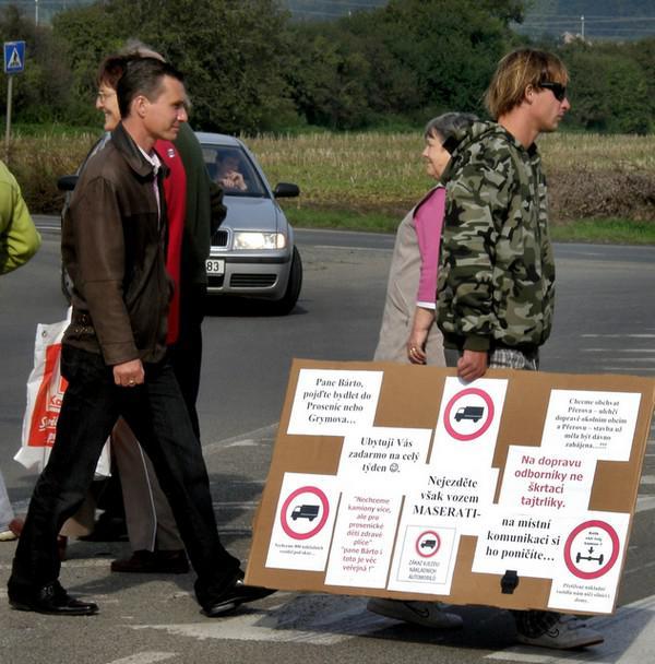 Blokáda přechodu