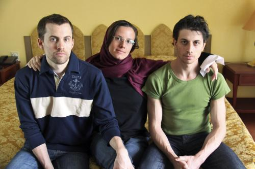 Shane Bauer, Sarah Shourdová a Josh Fattal