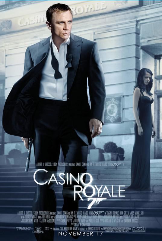 Casino Royale se rovněž natáčelo v ČR