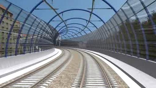 Železniční stavba