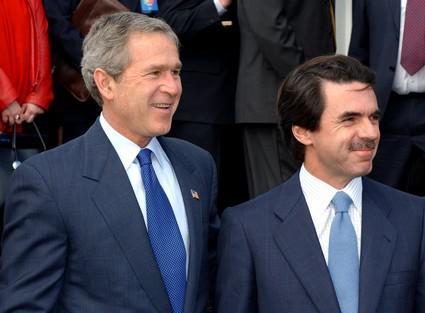 George W. Bush a José María Aznar