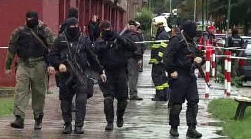 Slovenská zásahová jednotka se samopaly