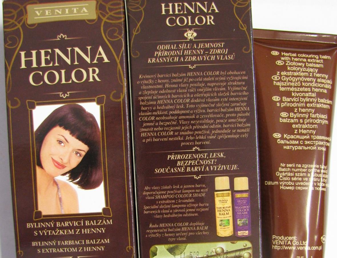 Barva Henna Color