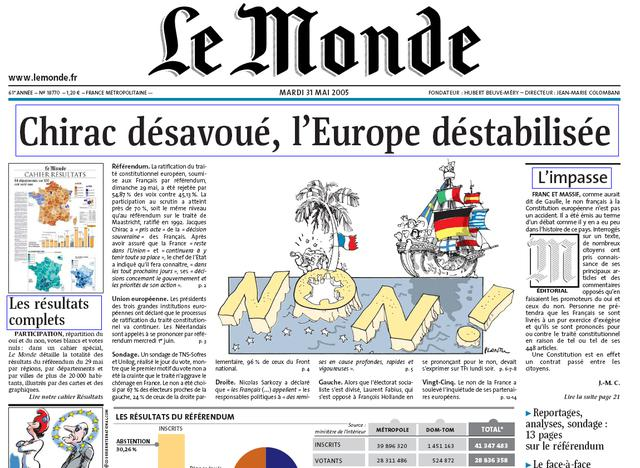 Franouzský deník Le Monde