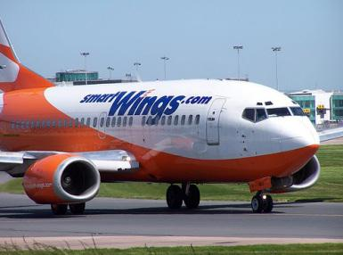 Letadlo společnosti SmartWings