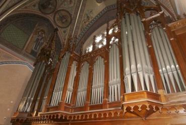 Varhany v kostele sv. Ludmily