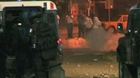 Nepokoje v Kosovské Mitrovici