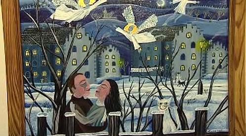 Obraz malířky Lucie Suché