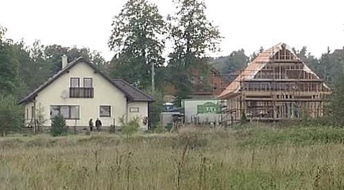 Výstavba rodinných domků v Tisé