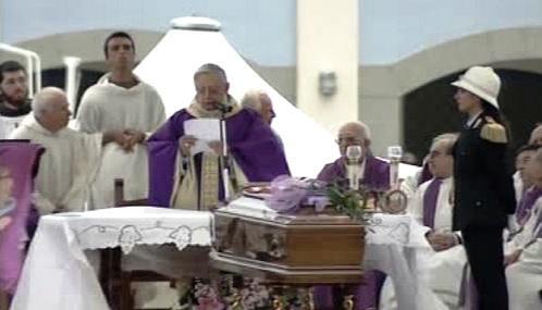Pohřeb Angela Vassalla