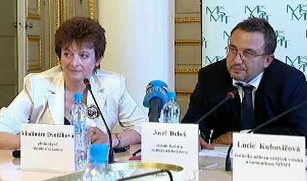 Vladimíra Dvořáková a Josef Dobeš