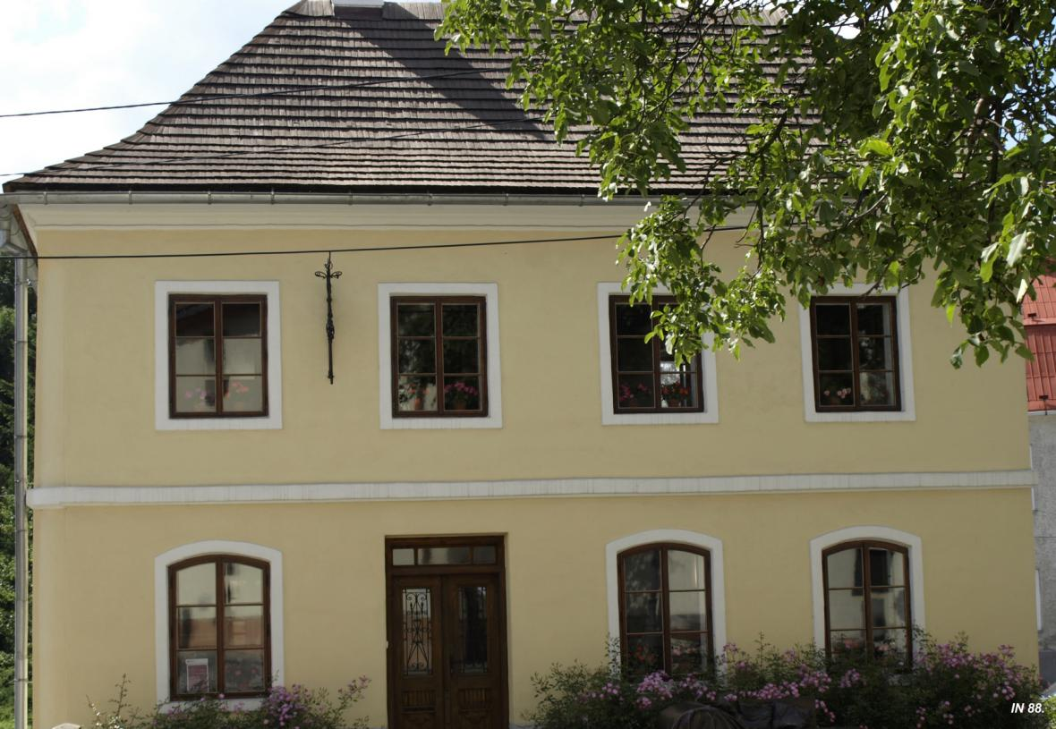 Rodný domek Sigmunda Freuda