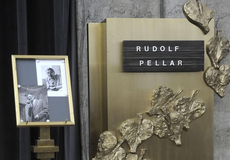 Poslední rozloučení s Rudolfem Pellarem