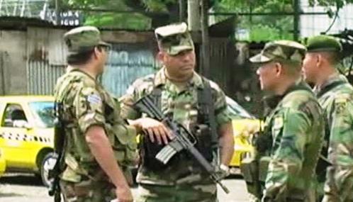 Salvadorští vojáci