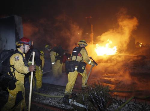 Hasiči zasahují při výbuchu plynu v San Francisku