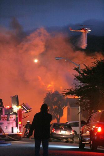 Výbuch plynu na předměstí San Franciska
