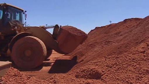 Těžba v Číně