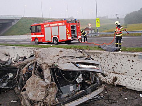 Nehoda na D1