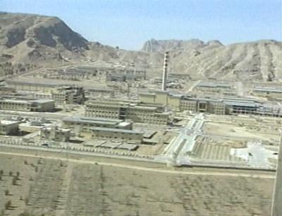 Jaderné zařízení v Íránu