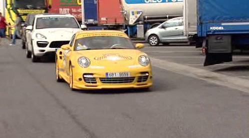 Luxusní auta na Diamond Race