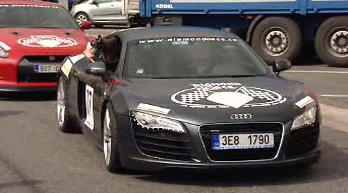 Audi R8 na Diamond Race