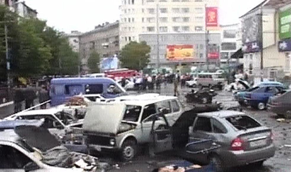 Výbuch na tržišti v ruském Vladikavkazu