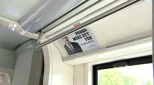 Volební tramvaj TOP09