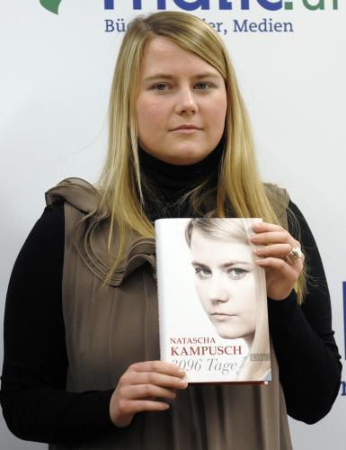 Natascha Kampuschová představila ve Vídni svou knihu